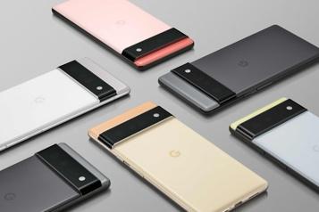 Pixel6 Google s'essaie encore dans le marché des téléphones intelligents
