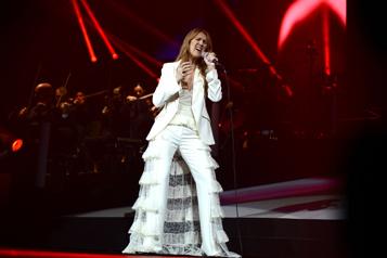 Céline Dion de retour avec le styliste Law Roach)