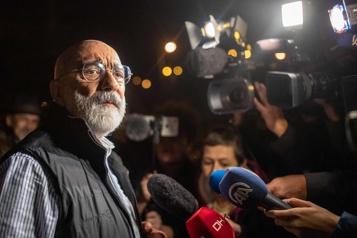 Turquie Libération de l'écrivain et journaliste Ahmet Altan)