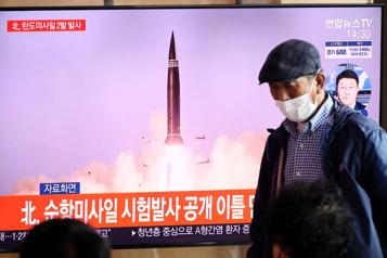 La Corée du Nord lance un autre projectile