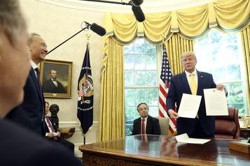Trump annonce un accord commercial partiel avec la Chine «très important»