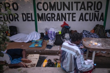 Migrants en route vers les États-Unis Le Mexique met la pression sur Joe Biden pour éviter l'explosion)