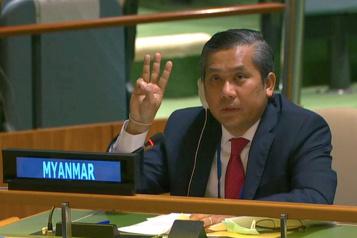 Imbroglio aux Nations Unies sur qui représente désormais la Birmanie)