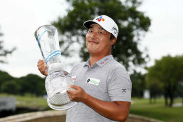 K. H. Lee remporte le tournoi AT & T Byron Nelson)