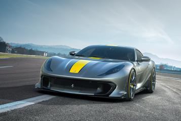 Ferrari812 Competizione Hommage à une espèce en voie de disparition)