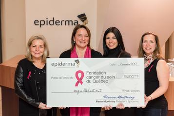 17000$ pour le cancer du sein