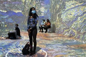 L'expo Immersive Van Gogh s'arrête à NewYork)