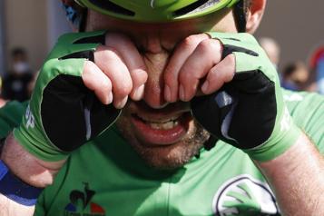 Tour de France Mark Cavendish gagne la 13eétape et égale le record de Merckx)