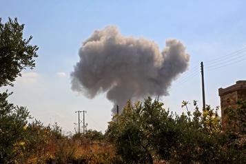 Israël frappe des cibles iraniennes en Syrie)