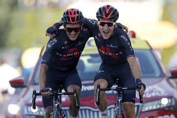 Tour de France Kwiatkowski gagne la 18eétape, Roglic toujours en jaune, Houle 41e)