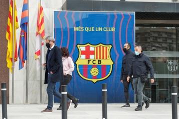 FC Barcelone L'ex-président Josep Maria Bartomeu arrêté)