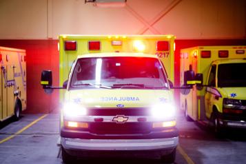 Ormstown Une collision entre une voiture et une moto fait un blessé grave)