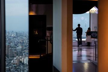 Tours et gratte-ciel Tokyo à perte de vue)