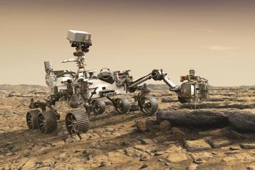 Le rover Perseverance tentera de se poser sur Mars jeudi)