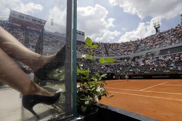 Le tournoi de Rome avancé d'une semaine)