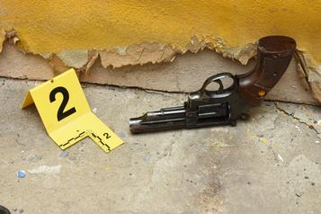 Procès pour tentative de meurtre Le revolver retrouvé sur les lieux du crime)