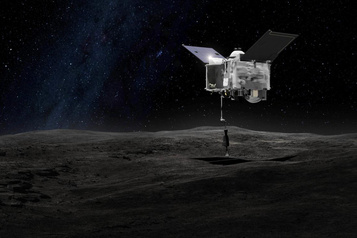 NASA Une mission «extrêmement délicate» pour prélever une portion d'astéroïde)