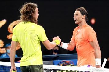 Internationaux d'Australie Stefanos Tsitsipas renverse Rafael Nadal)