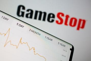 L'action de GameStop s'envole de plus de 100% à la clôture de WallStreet)