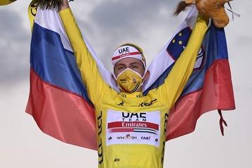 Tour de France Le Slovène Tadej Pogacar devient le plus jeune vainqueur depuis 1904)