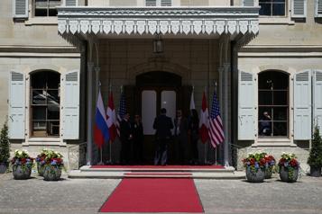 Tête-à-tête entre Biden et Poutine à Genève)