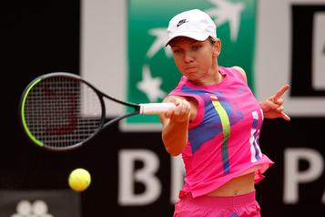 Simona Halep remporte le tournoi de Rome)
