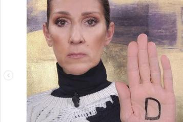 Céline Dion prend la parole contre le harcèlement envers les femmes)
