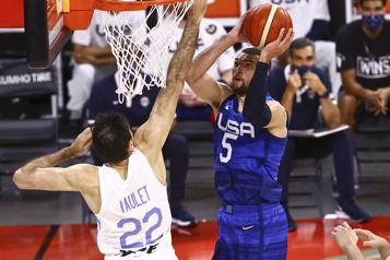 Les Américains battent les Argentins en match préparatoire)