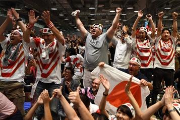 Coupe du monde de rugby: frénésie à Tokyo après la victoire du Japon