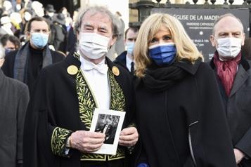 Cérémonie en mémoire du couturier français Pierre Cardin)