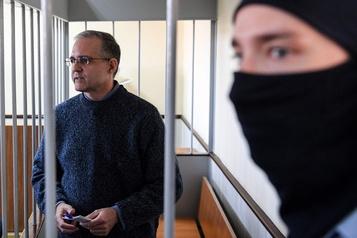 Russie: un Américain accusé d'espionnage dit avoir été blessé en prison