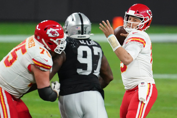 Chiefs 35, Raiders 31 Trop de talent)