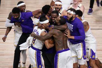 Les Lakers sacrés champions NBA pour la 17efois)