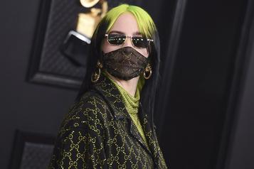 Coup d'œil sur le tapis rouge du 62egala des prix Grammy