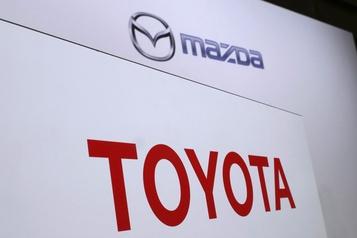 Fin d'une coentreprise Toyota-Mazda sur les technologies électriques)