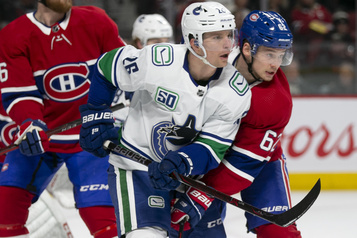 Canucks 0 - Canadien 2 (2e période)