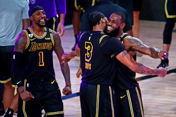 NBA Les Lakers en avance2-0 dans la finale de l'Ouest)