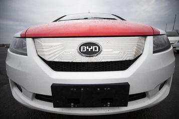 Le groupe chinois BYD va vendre des voitures électriques en Norvège)