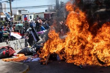 Chili L'ONU dénonce la «xénophobie» de manifestants anti-immigration)