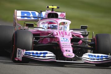 GP de Grande-Bretagne: Stroll le plus rapide de la 2eséance d'essais libres)