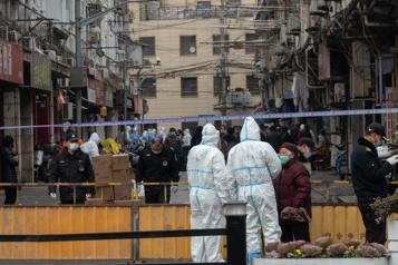 Un quartier de Shanghai évacué après trois cas de COVID-19)