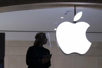 Avec les ventes d'iPhone en hausse, Apple fait mieux qu'attendu)