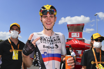 Hugo Houle 48e Au Tour de France, Matej Mohoric fait face aux soupçons)