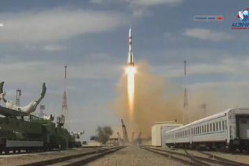 Une capsule Soyouz a décollé vers la Station spatiale internationale