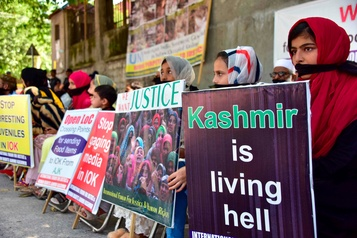 Huit blessés dans des manifestations au Cachemire indien