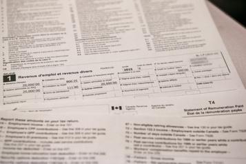 Pas de déclaration de revenus unique pour le Québec)