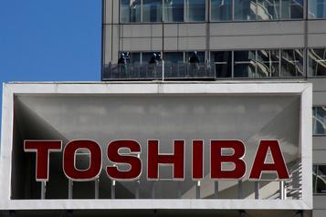 Perte nette au premier trimestre pour Toshiba)