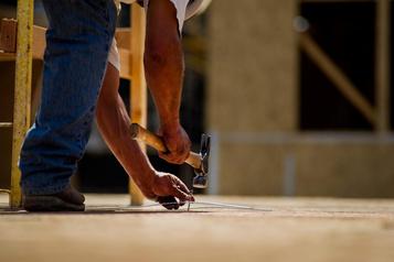 Les entrepreneurs en construction onthâte de reprendre le boulot