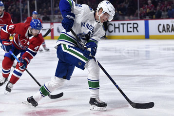 Canucks 0 - Canadien 2 (1re période)