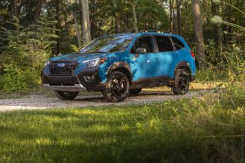 Subaru Au tour du Forester d'enfiler ses bottes de randonnée)